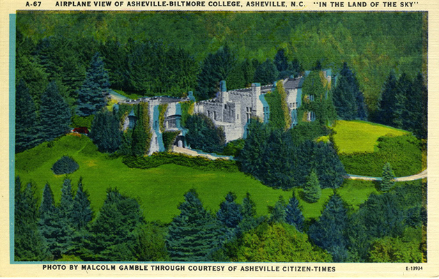 LeComptePostcardCollection-AshevilleBiltmoreCollege