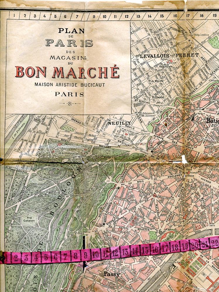 souvenir of the bon marche paris. Black Bedroom Furniture Sets. Home Design Ideas