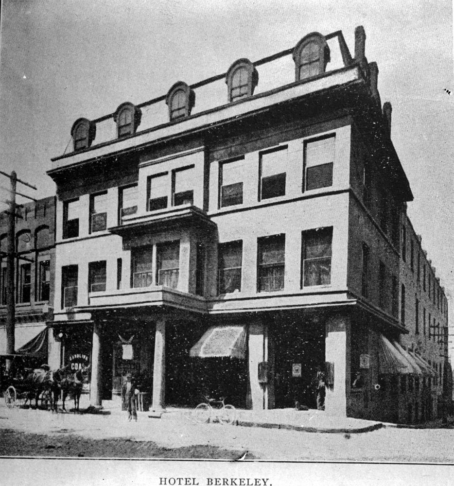 hotel berkeley downtown asheville early 1900s wnc historical